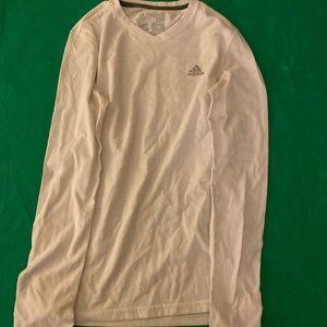 Long sleeve white adidas shirt!